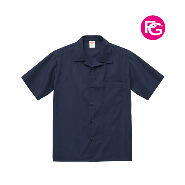United Athle T/C開襟口袋襯衫